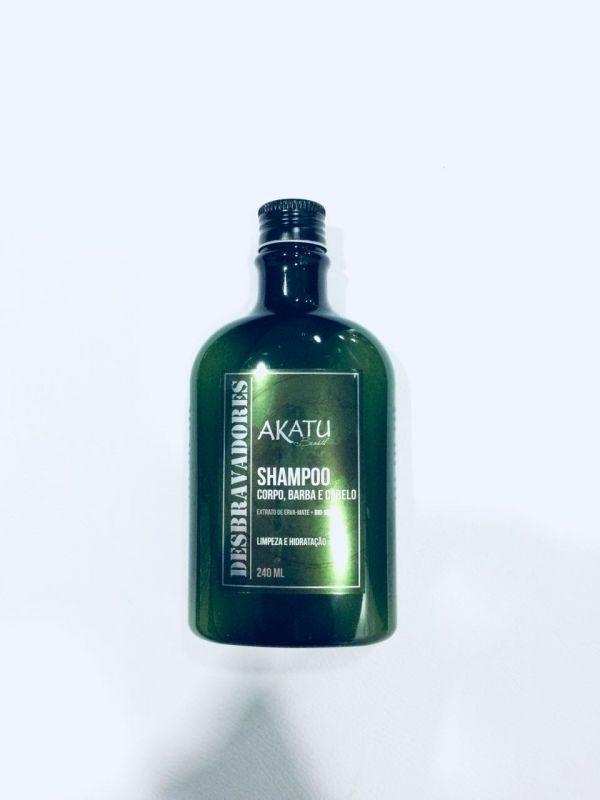 Shampoo Corpo, barba e cabelo 240ml - Desbravadores